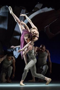 Marianela Nunez and Nehemiah Kish in The Royal Ballet's Aeternum © ROH/Johan Persson, 2013 ♥