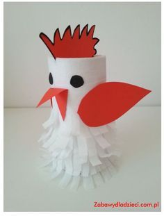 Toilet Paper Roll Crafts - Get creative! These toilet paper roll crafts are a great way to reuse these often forgotten paper products. You can use toilet paper Animal Crafts For Kids, Paper Crafts For Kids, Toddler Crafts, Preschool Crafts, Easter Crafts, Crafts To Make, Fun Crafts, Art For Kids, Arts And Crafts