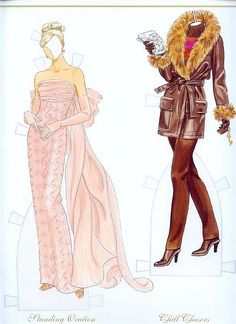 Fashion Weekly Awards Paper Dolls