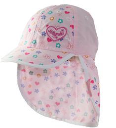 9ff440fd The perfect baby girls beach hat. This legionnaire hat has great protection  from the sun