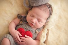"""Gorgeous hand felted newborn """"tin"""" hat and heart posing plush Photography Props, Newborn Photography, Looking Forward To Seeing You, Newborn Photo Props, Newborn Pictures, Photo Sessions, Backdrops, My Photos, My Etsy Shop"""