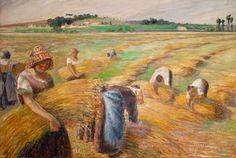 Camille Pissarro's The Harvest (1882)