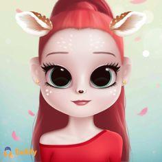Girl Cartoon, Cartoon Art, Anime Characters, Fictional Characters, Cute Anime Character, Big Eyes, Princess Zelda, Drawings, Disney