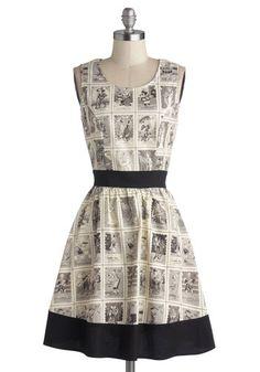 Skeleton of Fun Dress, #ModCloth