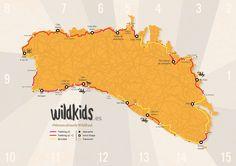 Mapa Menorca Cami de Cavalls WildKids