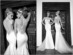 9 Sexy Backless Wedding Dresses and Gowns for 2013 | Confetti Daydreams  ♥ ♥ ♥ LIKE US ON FB: www.facebook.com/confettidaydreams ♥ ♥ ♥