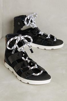 Sorel Torpeda Lace Sandals - anthropologie.com