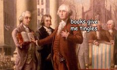 The Captioned Adventures of George Washington - books give me tingles