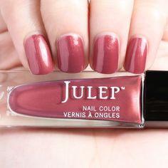 Julep Genevieve - Wonder Maven - September 2016 - Red rock chrome.
