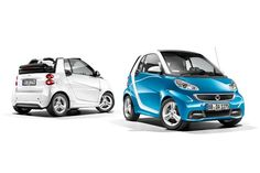 Smart Fortwo (2012) Iceshine Edition Cabrio & Coupé