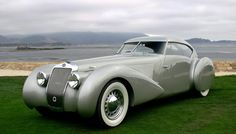 Classic Delage D8-120 S Pourtout Aero Coupe - Deco design 1937 ❤ App for your car ★ Car Warning Lights guide, now in App Store https://itunes.apple.com/us/app/car-warning-lights-guide-solve/id893411270?ls=1&mt=8