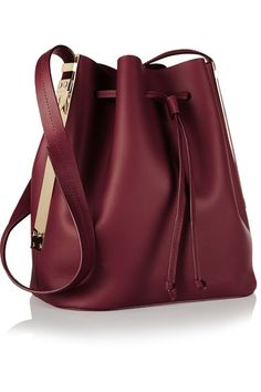50d6736e08c Burgundy matte-leather (Cow) Drawstring top Comes with dust bag Weighs  approximately 2lbs