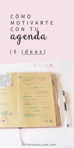Decorar la agenda para aumentar la motivación (5 ideas)
