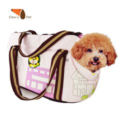 Pet Dog Cat Travel Carrier Bag Built in Lock Collapsible Carrying For Small Dogs Chihuahua Cats go Walking Hiking Shopping #Affiliate