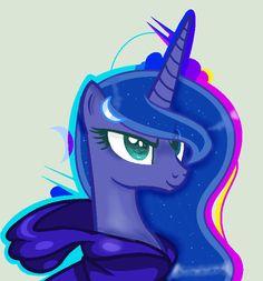 mlp+Luna+the+awesome+PRINCESS!+XD+by+CloudyPonyArtists.deviantart.com+on+@DeviantArt