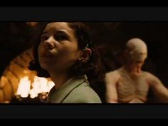 """ETS4U Very creepy scene from """"Pan's Labyrinth""""  The hero has to overcome monsters, but come on...don't we all know what """"absolutamente nada"""" means?"""