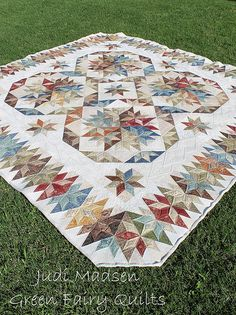 Jans quilt finished. - Green Fairy Quilts love the quilting and the quilt!