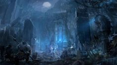 Fantasy ruins/shrine