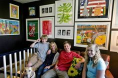 Methods To Adorn Your House with your Child's Artwork , Display artwork proudly: For many homes, the kid's artwork is displayed only in their rooms, and therefore is only appreciated by the children. Display artwork proudly throughout your home and see how it brightens every space in your interiors. For thos , Admin ,...