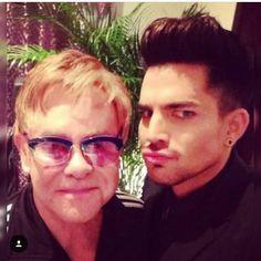 Elton John & Adam 2018