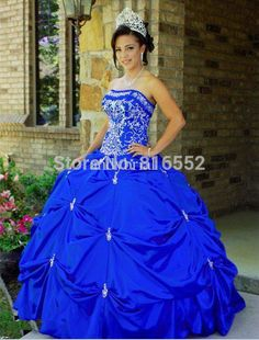 Find More Quinceanera Dresses Information about 2015 New Sexy Taffeta Ball Gown…