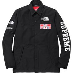 curatedsupply.com - The Northface / Supreme Expedition Coaches Jacket Black…