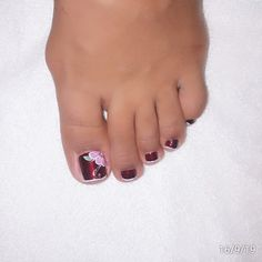 Esmaltado semipermanente Enamels, Pretty Toe Nails, Feet Nails