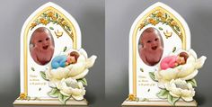 The Bradford Exchange now have these beautifully detailed photo frames for the bundles of joy.