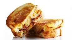 Bacon, Cheese and Potato Skin Sandwiches