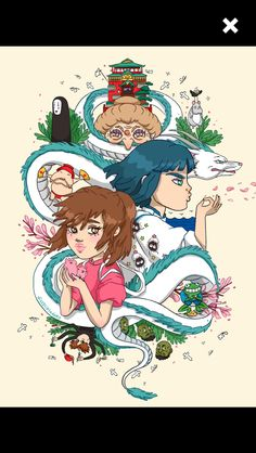Spirited Away by dizzy little dolly