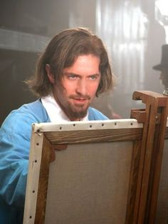 """Richard Armitage as 'Young Claude Monet' in """"The Impressionists"""" 2006"""