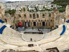Acropolis Theater, Athens Greece