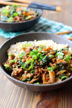 Gingery Ground Turkey or Beef Stir Fry by Frugal Nutrition #dinner #budget #realfood