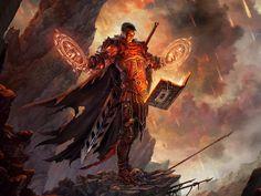 Image with tags: artwork, books, Diablo III, fantasy art, Mage, realistic