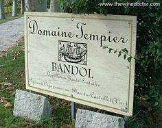 Domaine Tempier....rose of my dreams