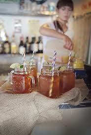 serving drinks in mason jars - Google Search