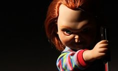 Talking Sneering Chucky Collectible Figure