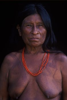 Central America, South America, Drawing Faces, Drawings, Sell My Photos, Amazon Tribe, Beauty Around The World, Tribal Women, First Humans