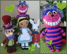 Alice in Wonderland patterns