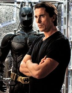 Christian Bale! BATMAN!