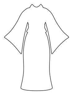 dress pattern use the printable outline for crafts creating