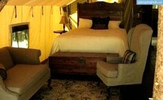 Luxury Camping Tents Upstate New York | Glamping New York 2 night minimal