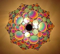 Beautiful ceiling lamp.