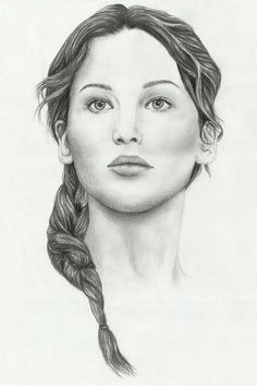 Katniss Everdeen by @ChicoLouco on Twitter