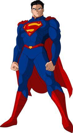 Super Man New52 DBZ style by MAD-54 on DeviantArt