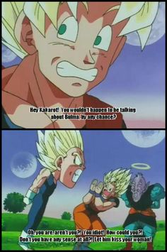 This was definitely in my top 10 favorite DBZ moments. I love how Goku tries to apologize after this!