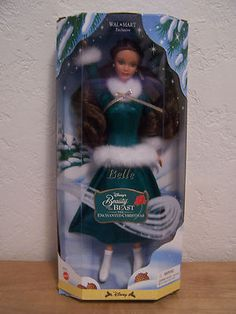 RARE Disney Beauty and The Beast Enchanted Christmas Belle Walmart Exclusive | eBay