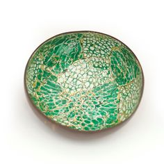 lacquer coconut shell bowl by Namigurumi on Etsy, $3.99