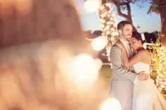 Great Night Twinkle Lights Shot at Memory Lane Event Center by Mint Photography!