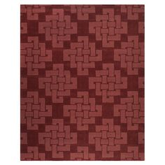 dublin rug in brick red from jossandmain.com